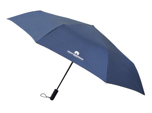 Weatherproof 56 Inch Auto Open and Close Golf Umbrella, Navy, One Size