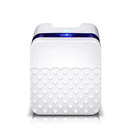 Read About LSYOA Small Portable Dehumidifier, Intelligent Electric Quiet Auto Shut Off Dryer for Bas...