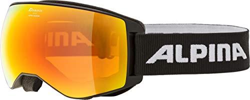 ALPINA Ski- und Snowboardbrille Naator schwarz/orange (704) 0