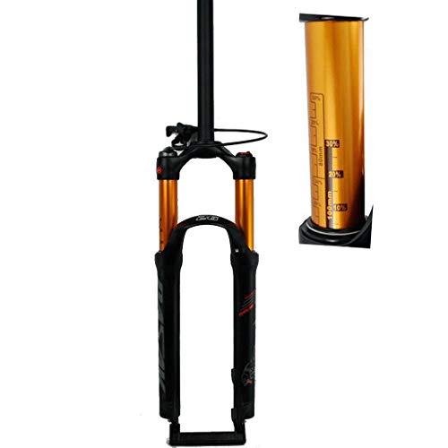 MZP MTB fietsvering luchtvork 26 27.5 29 inch rechte buis 1-1/8 inch QR 9 mm veerweg 100 mm handmatige/kroonvergrendeling 1790 g fiets fietsen