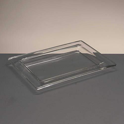 la galaica   Bandeja de Cristal - Colección Rialto - 24x18x1,8 cm....