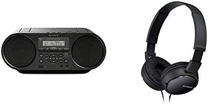 Sony Zs Rs60bt Cd Und Usb Bluetooth Boombox Radiorekorder Nfc Mega Bass Ukw Radio Schwarz Audio Hifi