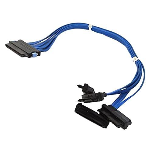 Dell - Lote de 100 cables SAS 0CJ027 CJ027 PowerEdge 840 UCS-51 SFF-8484 4X SFF-8482