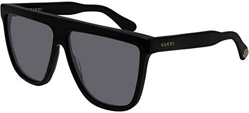 Gucci GG0582S BLACK/GREY 61/12/145 Mens Zonnebrillen