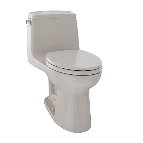 TOTO MS854114EL#03 Eco Ultramax ADA Elongated One Piece Toilet, Bone