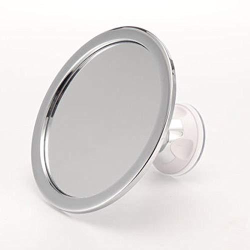 Liamostee Nebelloser Make-up-Spiegel mit Halterung, Saugnapf, 360 Grad drehbar, für Dusche, Rasierspiegel