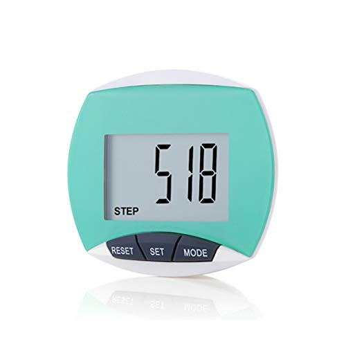 LEBEXY Schrittzähler Pedometer mit Clip Einfache | Kilometerzähler Joggen | Fitness Tracker | Schrittzaehler ohne app und Handy
