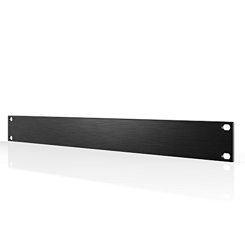 AC Infinity Rack Panel Accessory Blank 1U Space for 19' Rackmount, Premium Aluminum Build and Anodized Finish