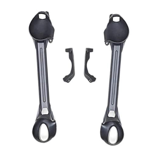 Arm Bracers per DJI FPV V2, Drone Braccio Bracciali, Leggero & Resistente, Facile da Montare, 16 x 27.5X 3 CM, 19.5 g, Nero