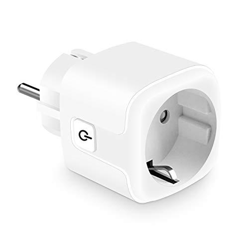 KEXIN Smart Steckdosen WLAN Steckdose Intelligente Mini Plug fernbedienbar funktionieren mit Alexa (Echo und Echo Dot, Google Home und IFTTT) App Steurung Sie Ihre Geräte von überall aus Weiß
