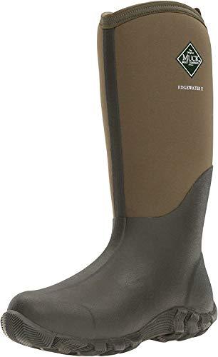 Muck Boots Edgewater II, Botas de Agua Unisex Adulto, Marrón (Moss), 42...