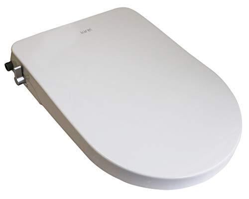 杉半(すぎはん)水洗浄便座 シャワー洗浄便座 Kireiシリーズ (ウォッシュ機能:電源不要、水圧式、非電源式)ホワイト SG-001