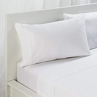 New Christmas Italian Tapestry Bedding 1000 Thread Count Deep Pocket Mattress Bed Sheet 4 Pcs Sheet Set GOT Certified 100% Organic Egyptian Cotton Queen True White Solid