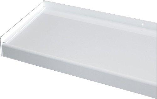 Vensterbank, vensterbank 400 mm diep - zilver, wit, donkerbrons, antraciet (zonder zijdelen) 2000 mm wit