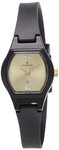 Maxima Analog Gold Dial Women's Watch - 07447PPLW