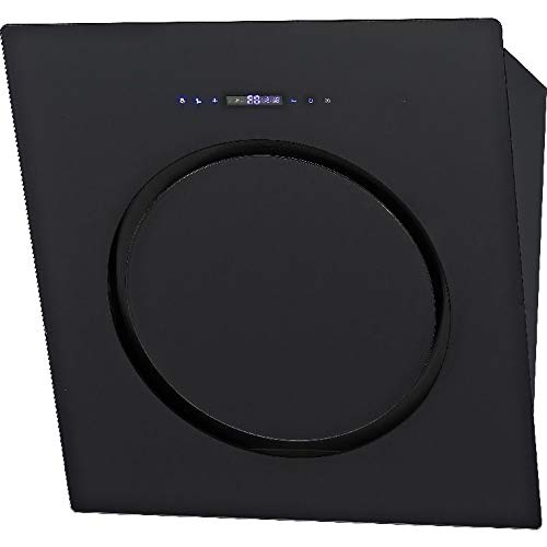 Syntrox Germany DH-230W-860-BL Hotte aspirante oblique avec écran tactile et télécommande 60 cm