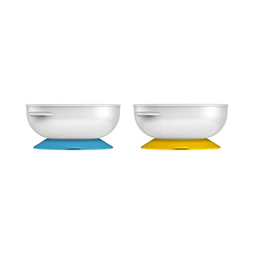 Dr. Brown's No-Slip Suction Bowl, 2-Pack