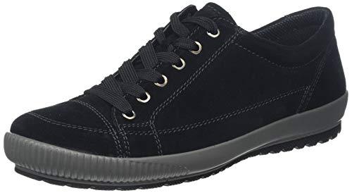 Legero, Damen, Sneakers, Niedrig- Anderes Leder, Schwarz (Schwarz 00), 5.5 UK