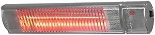 Euromac Golden 1800 Comfort RC Calentador halógeno Acero inoxidable 1800 W - Calefactor (Calentador halógeno, 115°, IP65, Acero inoxidable, Aluminio, 1800 W)
