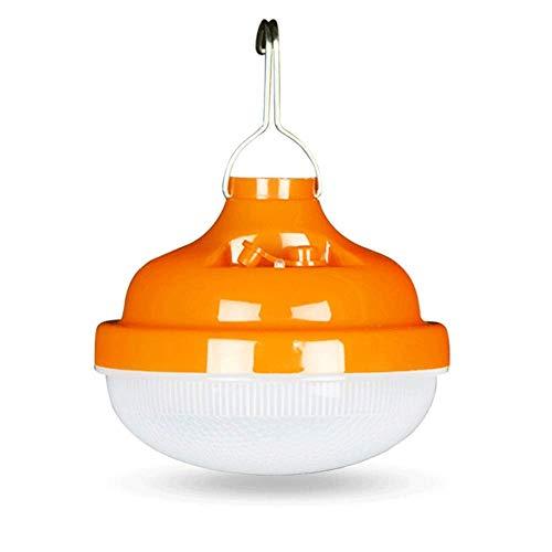 QQWJSH Lámpara al Aire Libre de Carga LED para Tienda de campaña, lámpara de Soporte, lámpara de Emergencia, Carga USB para el hogar, iluminación para Cortes de energía, lámpara OVNI de 80 W