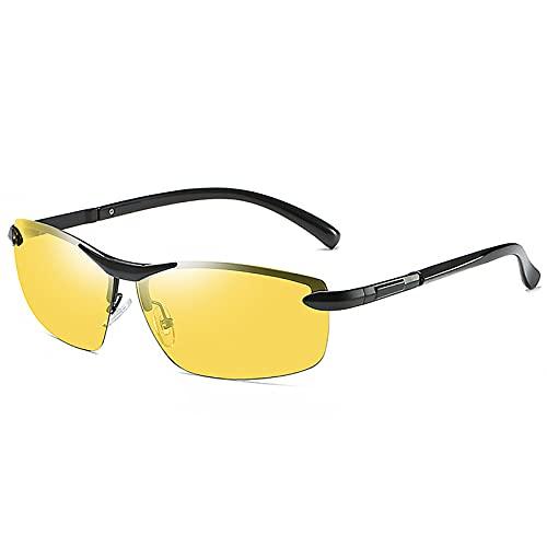 BEIAKE Gafas De Sol Polarizadas Gafas Deportivas De Los Hombres Protección para Los Ojos Gafas De Sombreado Anti-UV para Ciclismo, Viajes, Playa, Unidad,8