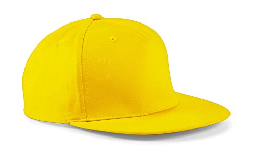 Snapback Hip Hop Rapper Cap one size,Yellow