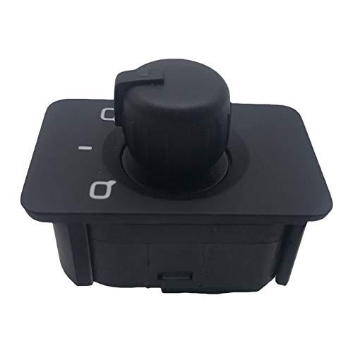 KASILU Jidian48 Botón de Control del Control del Interruptor del Espejo del Espejo del Espejo del Coche para Audi A3 8L1 A6 4B C5 97-04 4B0 959 565A 4B0959565A Reemplazo