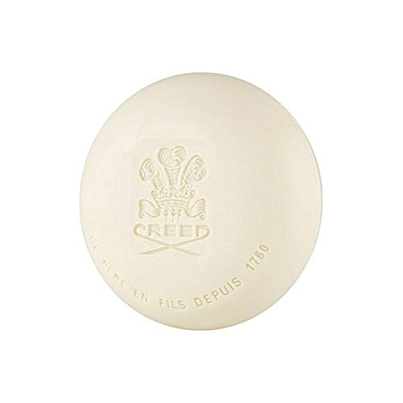 リンク魅力保証金[Creed ] 信条グリーンアイリッシュツイード石鹸150グラム - Creed Green Irish Tweed Soap 150G [並行輸入品]