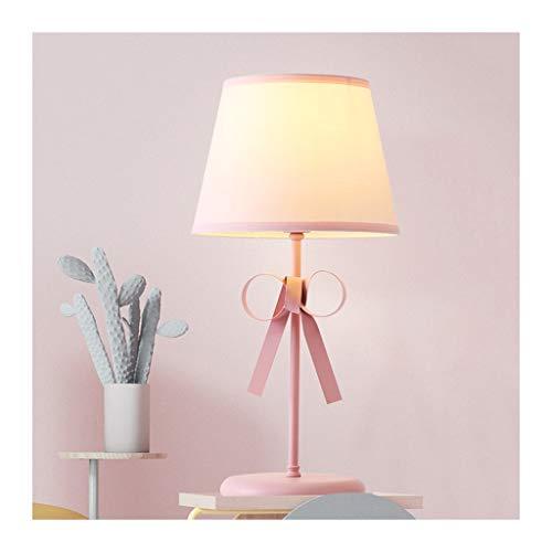 WYZ. Tafellamp, Nordic kinderstof bureaulamp, smeedijzeren afstanddimming E27 * 1, woonkamer decoratie sofa study slaapkamer nacht