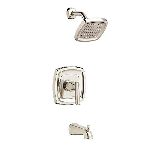 American Standard T018502.295 Edgemere Bath/Shower Trim Kit - 2.5 gpm, Brushed Nickel