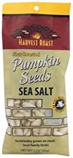 Harvest Roast, Snacks Pumpkin Seeds Sea Salt, 2 Ounce