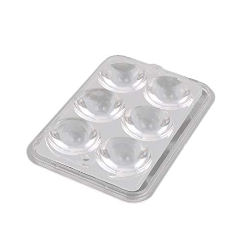 New Lon0167 Set PMMA Featured 6 LED Optical reliable efficacy Lens 93% Transmittance w Square Clear Cover for Lights(id:e16 54 d4 aac) -  62f43892-3c09-1b3e3b2e04f642