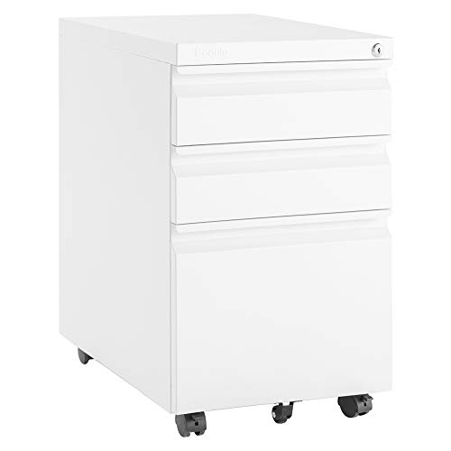 Rolling File Cabinet is nice when you work from home in a small space