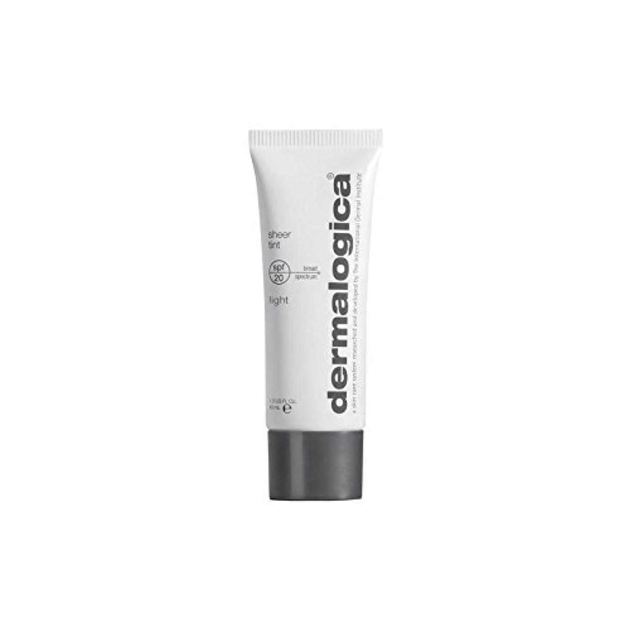 Dermalogica Sheer Tint Spf 20-Light (Pack of 6) - ダーマロジカシアーティント 20光 x6 [並行輸入品]