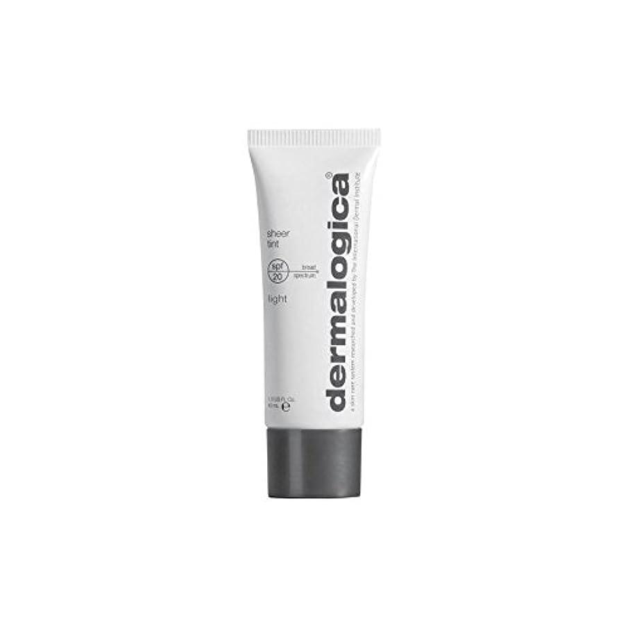 電気部屋を掃除する窓Dermalogica Sheer Tint Spf 20-Light (Pack of 6) - ダーマロジカシアーティント 20光 x6 [並行輸入品]