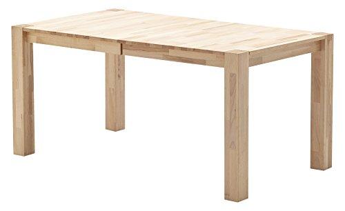 Robas Lund Esszimmertisch Tisch ausziehbar Massivholz Kernbuche, Ferdi BxHxT 160-210 x 76 x 90 cm
