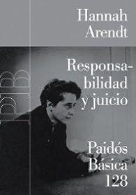 Responsabilidad y juicio par Hannah Arendt