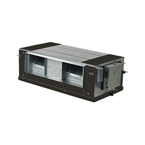 Unidad interior, cassette fancoil Art Flux 360°, modelo MKD-V500F, 57,5 x 57,5 x 27 cm, color blanco (Ref: MKD-V500F), 87 x 129 x 40 cm, color gris (Ref: MKT3H-2200G100)