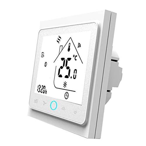 Tree-es-Life Controlador de Temperatura de termostato Inteligente para calefacción de Agua/Suelo eléctrico Caldera de Agua/Gas Funciona Caldera Blanca