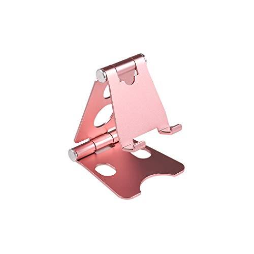BEHO-Trends Soporte de mesa para teléfono móvil, soporte para teléfono móvil, soporte para teléfono, soporte para mesa, soporte para smartphone, color rosa