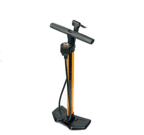 SKS Airworx 10.0 Standpumpe Fahrradpumpe Luftpumpe Orange bis 10 bar