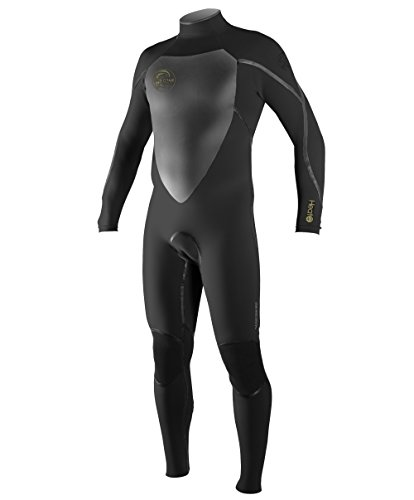 O'Neill Men's Heat 4/3mm Back Zip Full Wetsuit, Black, XX-Large Short