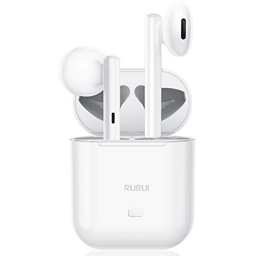 LEIOSSE Cuffie Bluetooth 5.0,Auricolari Senza Fili,Cuffie Wireless Sport,Touch Control,Auricolari in Ear,Accoppiamento Automatico, Compatibile con iPhone/Air-Pods/Android/Samsung/Huawei