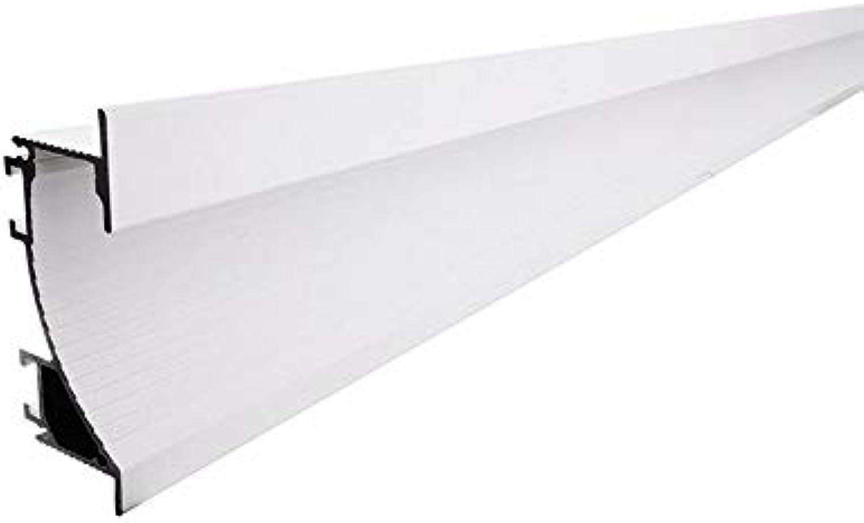 Reprofil Trockenbau-Profil Wandvoute EL-02-12 für 12-13,3 LED Stripes, Lnge  2m, wei-matt