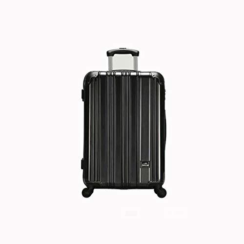 Lyl Reise-Koffer, weiblich, 50,8 cm, schlicht, modisch, für 24 Studenten, Schwarz (Schwarz) - yh5436