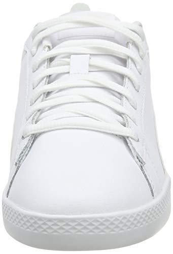 PUMA Smash Wns V2 L, Zapatillas Mujer, Blanco White White, 39 EU