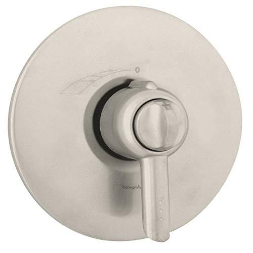 Hansgrohe Stratos E Thermo Balance I Trim, Brushed Nickel #06579820