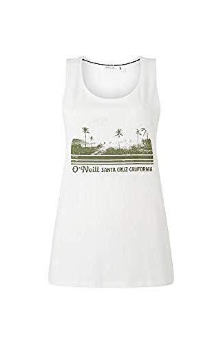O'NEILL LW Scarlet Graphic Camiseta Sin Mangas Tanktop para Mujer, Powder White, S