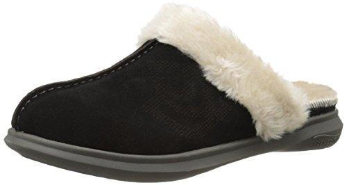 Spenco Women's Supreme Slide Mule, Black, 9 M US