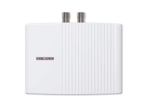 Stiebel Eltron 200142 Hydraulisch Gesteuerter Mini-Durchlauferhitzer EIL 3 Trend, 3,5 kW, Drucklos, Handwaschbecken, Über-/Untertisch, Weiß